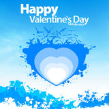 Background with heart stock photography