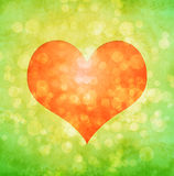 Background with heart Royalty Free Stock Image