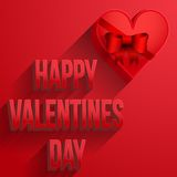 Background Heart Happy Valentines Day Card Stock Photography