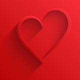 Background Heart Happy Valentines Day Card Royalty Free Stock Photo
