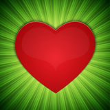 Background with heart-shape Royalty Free Stock Photo