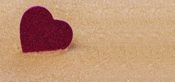 Background with a heart for Valentine`s day stock image