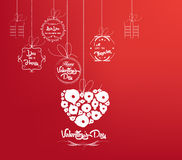 Background with heart by valentines day Stock Photos