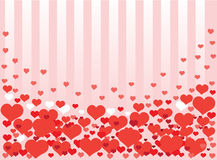 Background from hearts royalty free stock image