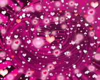 Background hearts Royalty Free Stock Images