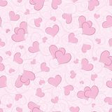 Background with hearts Royalty Free Stock Images