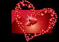 Background Hearts Stock Image