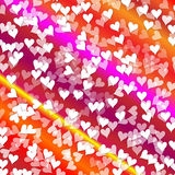 Background hearts Royalty Free Stock Photo