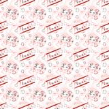 Background with hearts. Beautiful illustration of an abstract background with hearts on white background vector illustration