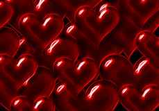 Background from hearts. Illustration a background from air hearts Royalty Free Stock Image
