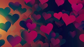 Background Hearts Royalty Free Stock Image