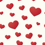 Background with hearts motif Royalty Free Stock Photos