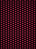 Background of Hearts Stock Photography