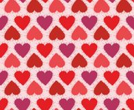 Background with hearts. Stock Photos