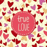 Background from hearts to   Valentines day. Royalty Free Stock Images