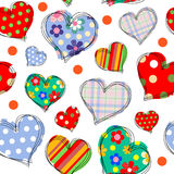 Background with hearts 1 Stock Images
