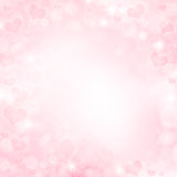 Background with hearts Royalty Free Stock Photo