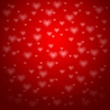 Background with hearts - Valentine's day,. Illustration Royalty Free Stock Photography