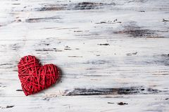 Background with hearts, Valentine. Valentine`s Day. Love. wicker hearts. Place for text. Romantic background copy space. Background with hearts, Valentine stock image