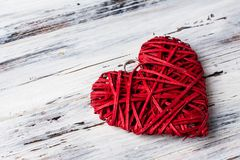 Background with hearts, Valentine. Valentine`s Day. Love. wicker hearts. Place for text. background copy space. Background with hearts, Valentine. Valentine`s stock image