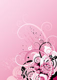Background with hearts,vector. Vector background with many hearts,valentines Stock Photo