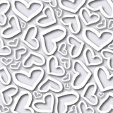 Background with hearts vector royalty free illustration