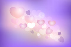Background of hearts Royalty Free Stock Images