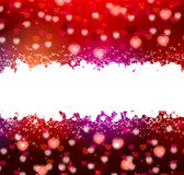 Background with hearts for your text Stock Photography