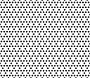 Background with hexagonal grid, lattice. Vector monochrome seamless pattern. Simple modern geometric texture with small hexagons. Wallpaper with hexagonal grid Stock Image