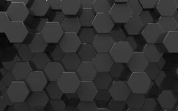 Background from hexagons Royalty Free Stock Photography