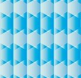 Background with hexagons in various shades of blue Royalty Free Stock Photos