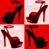 Background high heel design Stock Image