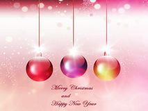 Background, holiday with light and garlands, colorful Royalty Free Stock Photography