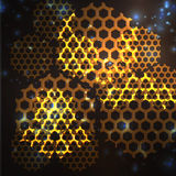 Background honeycomb Royalty Free Stock Photos