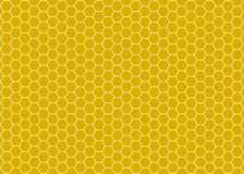 Background with honeycombs, bee. Linesbackground with honeycombs and spirals illustration,decoration,ornament Stock Photo