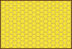 Background honeycombs Royalty Free Stock Photos