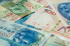 Background from Hong Kong dollars Royalty Free Stock Photo