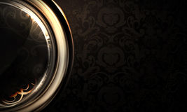 Background horizontal black Royalty Free Stock Photo