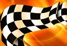 Background Horizontal Checkered. Computer illustration Stock Image