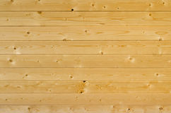 Background of horizontal light brown wooden planks Royalty Free Stock Image