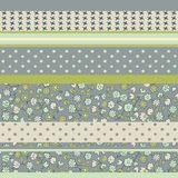 Background from horizontal patches in vector  Royalty Free Stock Photo