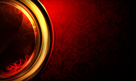 Background horizontal red Stock Photos
