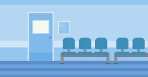Background of hospital corridor. Stock Images