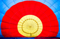 Background of hot air balloon Stock Image