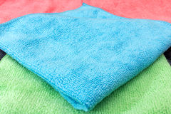 Background of Household Cleaning Cloths. Cleaning cloths image that could be useful for background work Royalty Free Stock Photo
