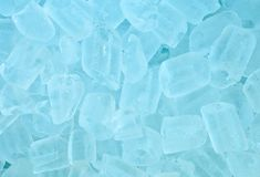 Background of  ice cubes Stock Photos