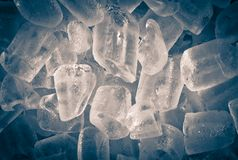 Background of  ice cubes. Abstract background of  ice cubes Royalty Free Stock Image