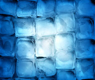 Background of ice cubes Royalty Free Stock Images