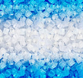 Background of ice cubes Stock Photo