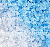 Background of ice cubes Royalty Free Stock Photography